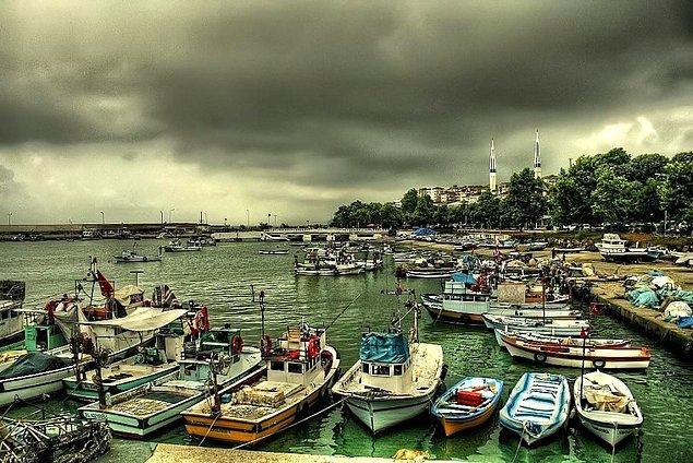 2. Liman'da Instagram için harika fotoğraflar çekebilirsiniz.