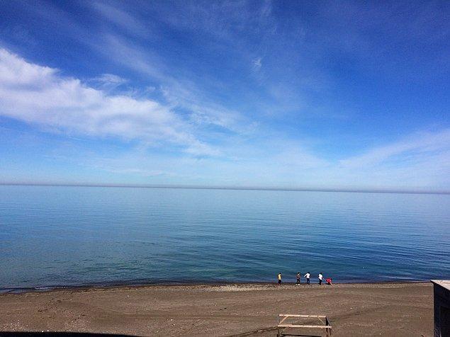 14. Sınırsız denizin ve gökyüzünün tadını çıkarabilirsiniz.