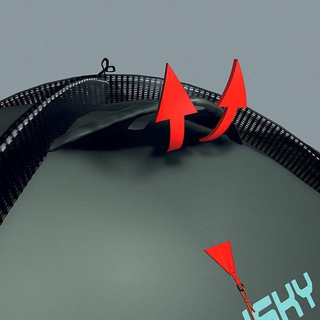 4. Çadırınızın havalandırma deliklerini açık tutun
