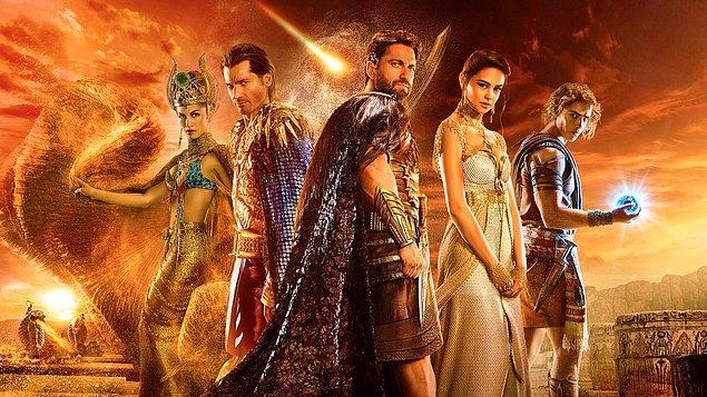 Mısır mitolojisi. Tabii...