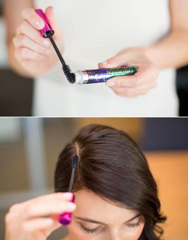 Bonus: Hazır eliniz değmişken maskara ile seyrek saçlarınızı daha gür göstermeye ne dersiniz?