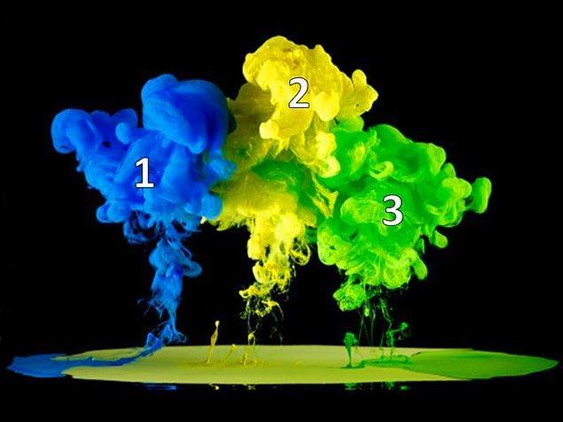 6. Bu renklerden hangisi iki ana rengin karışımından olur?
