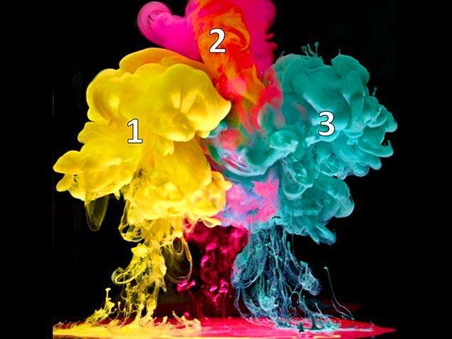 9. Renk skalasında 1 numaralı rengin karşısında hangi renk vardır?