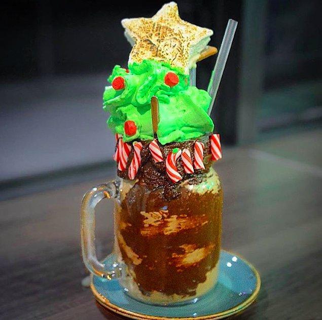 16. Bir Noel ağacını milkshake e kondurabilir misiniz?
