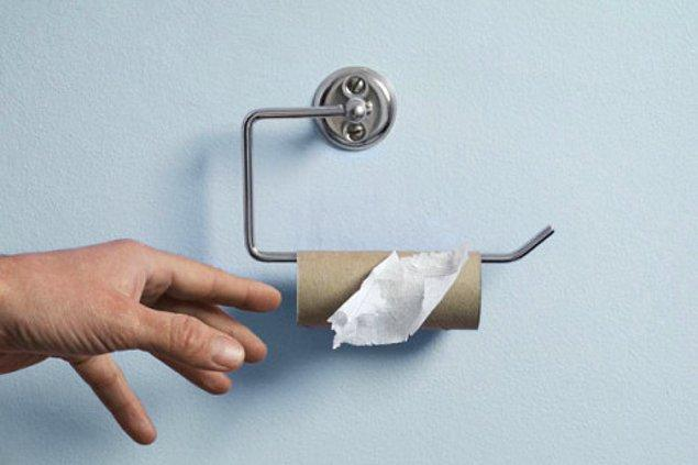 4. Tuvalet kağıdı testi