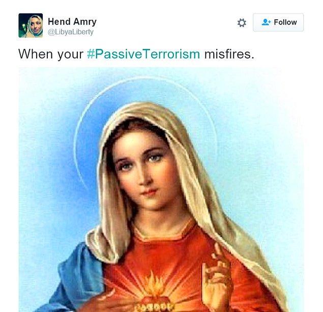 """""""Pasif terörizminiz tutukluk yaptığında."""""""