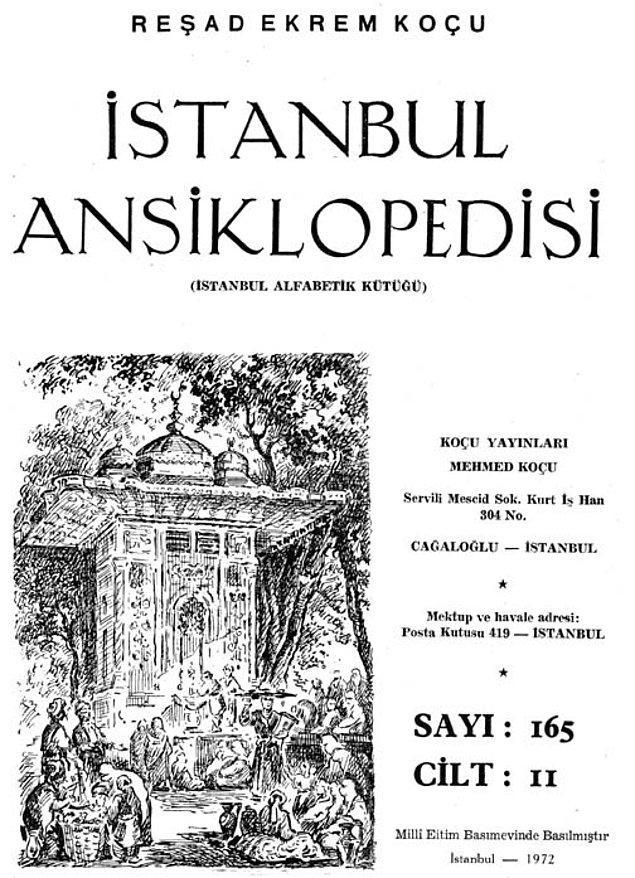 Reşad Ekrem Koçu ve İstanbul Ansiklopedisi sayılarından biri