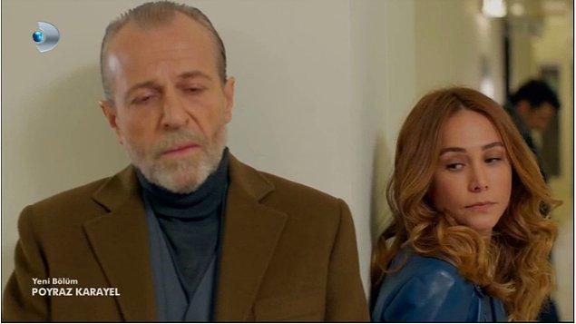 3. Baba ceketi renginde saç rengi, zengin kıza çok yakışmış.