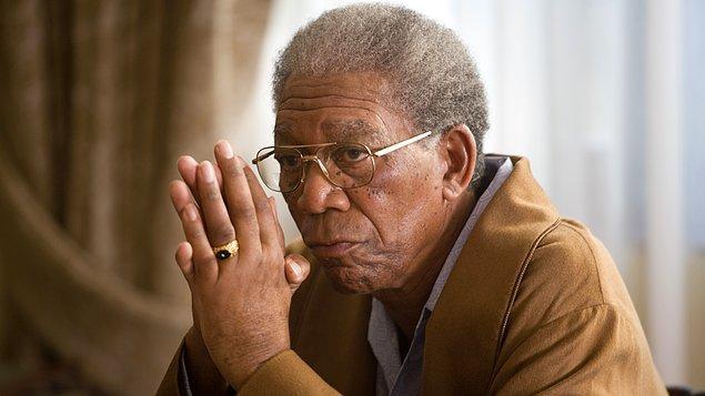 "20. ""Invictus (2009)"" filmindeki rolüyle ""Morgan Freeman"""