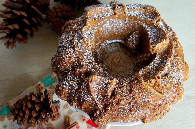 10. Sıfır şekerle de enfes kek yapılabileceğinin kanıtı!