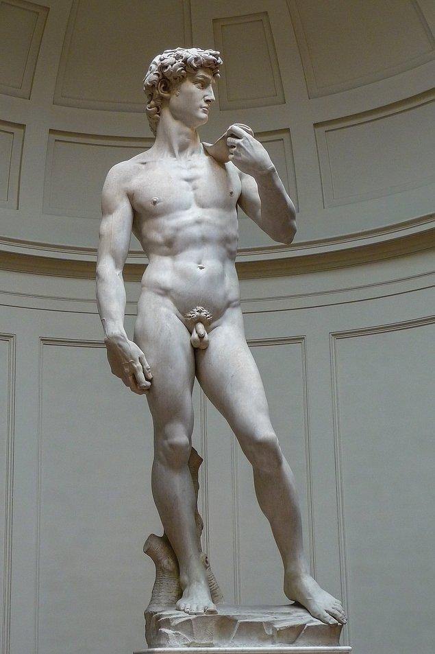 6. Peki Floransa'da bulunan Davut heykeli kimin eseridir?