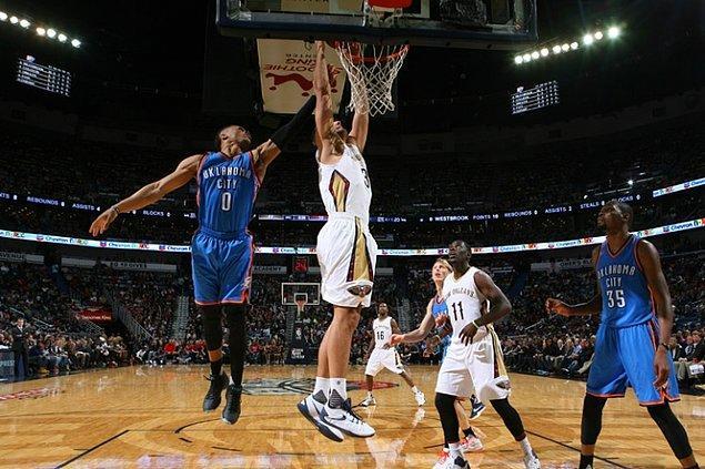 Pelicans, Thunder engelini aştı