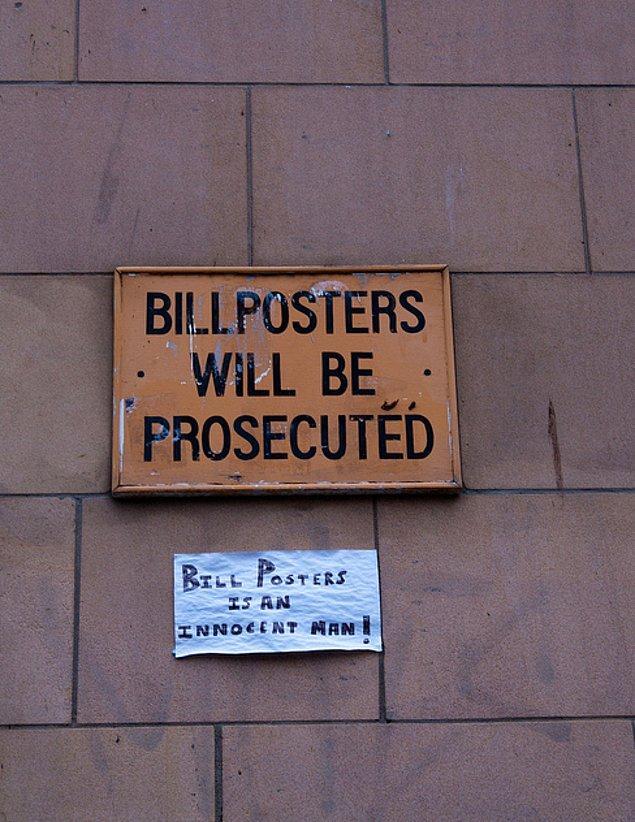 1. Bill Posters'ı yedirmeyiz.