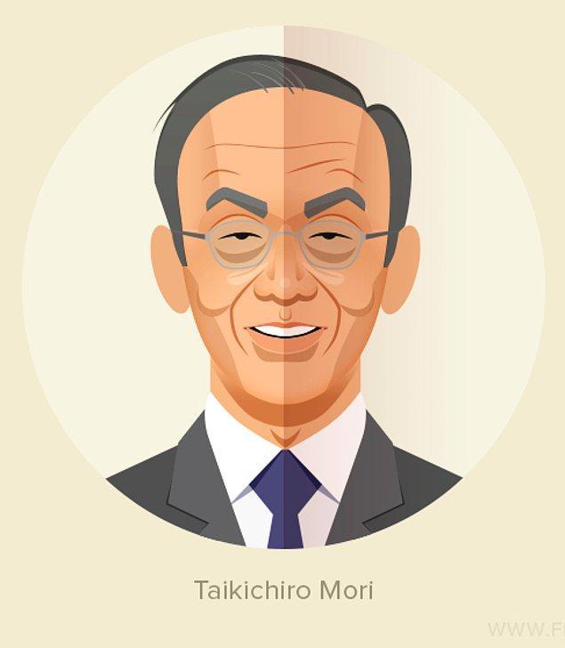 13. Taikichiro Mori, Japon gayrimenkul imparatorluğu Mori'yi 51 yaşında kurdu.