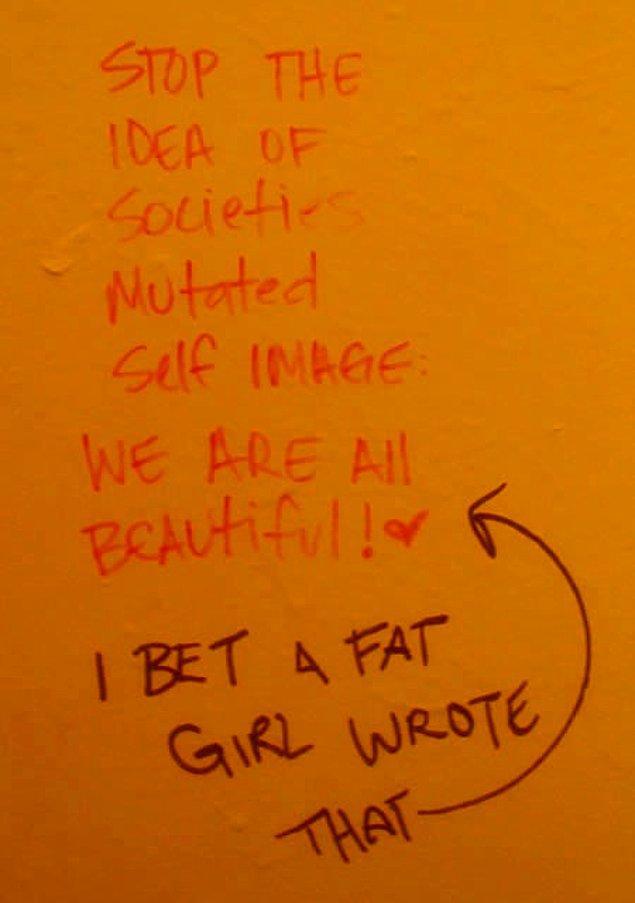 12. Tuvalet yazılarından karakter analizi
