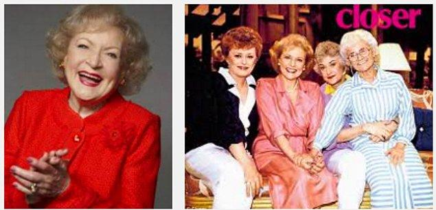 12. Betty White 51 yaşından sonra dünyanın en çok ödül kazanan kadın komedyenlerinden biri oldu.