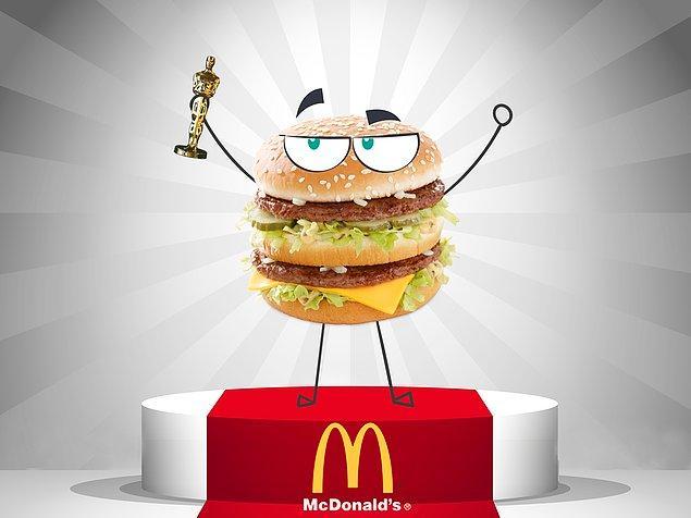 Veeeee... Bu sene en iyi burger ödülü Big Mac'e gitti!!