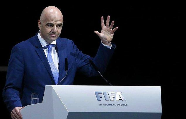 Hedefi FIFA Dünya Kupası'nda Mücadele Eden Takımların Sayısını 32'den 40'a Çıkarmak