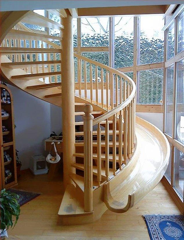 6. Kaydıraklı merdiven
