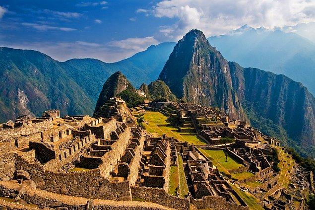 59. Peru'daki Machu Picchu'yu ziyaret edin.