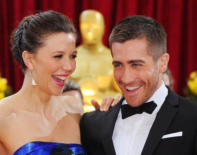 1. Maggie Gyllenhaal ve Jake Gyllenhaal