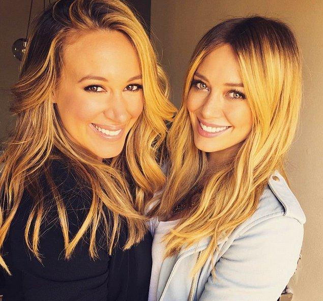 12. Haylie Duff ve Hilary Duff