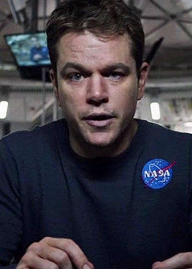 6. The Martian filmindeki rolüyle Matt Damon (En İyi Erkek Oyuncu)