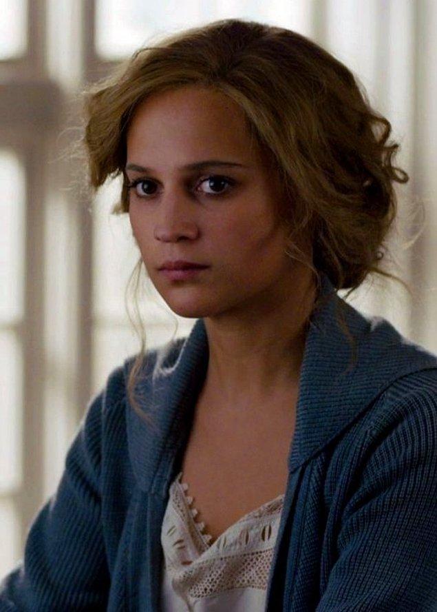 16. The Danish Girl filmindeki rolüyle Alicia Vikander (En İyi Yardımcı Kadın Oyuncu)