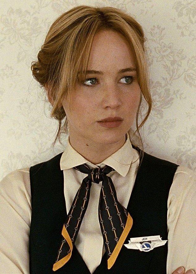 3. Joy filmindeki rolüyle Jennifer Lawrence (En İyi Kadın Oyuncu)