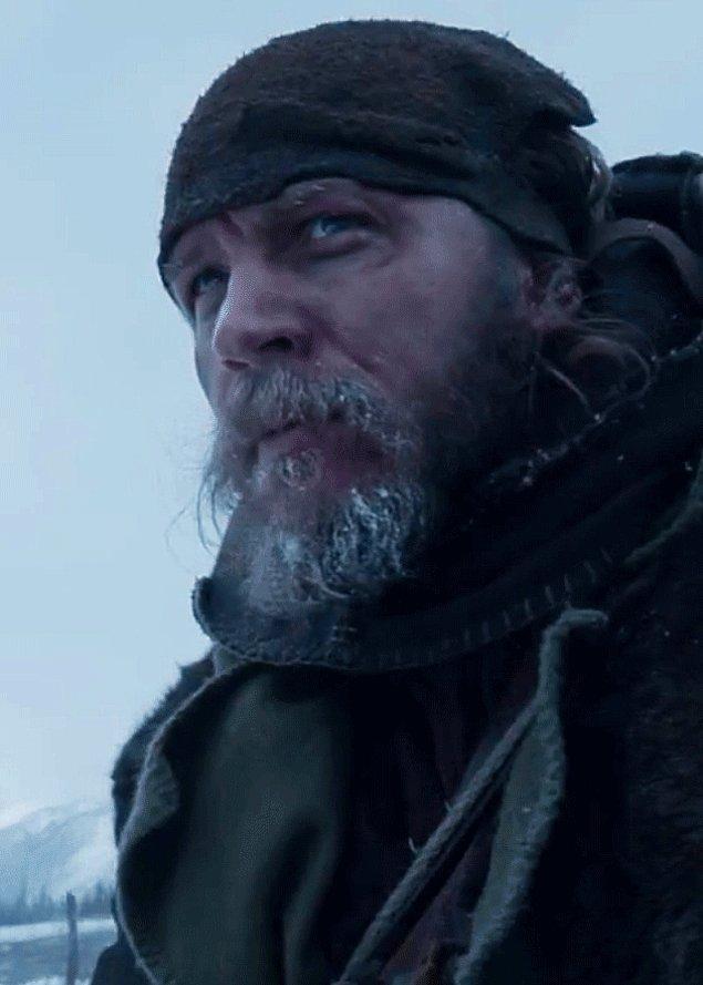 19. The Revenant filmindeki rolüyle Tom Hardy (En İyi Yardımcı Erkek Oyuncu)
