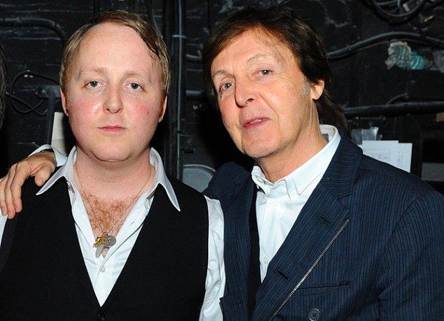 3. James McCartney ve Paul McCartney