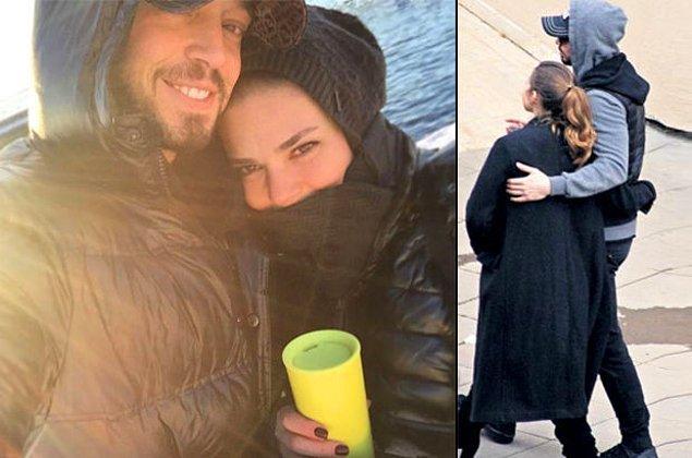 Enver ve Boz ilişkilerini sevgililer gününde Instagram hesaplarından paylaştıkları bir fotoğrafla duyurmuşlardı.