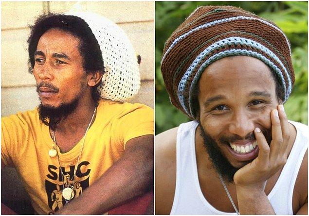 13. Bob Marley ve Ziggy Marley