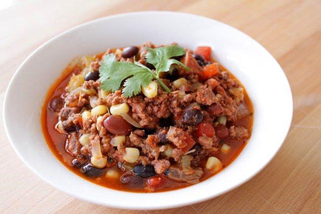 7. Meksikalıların en güzel sulu yemeği!