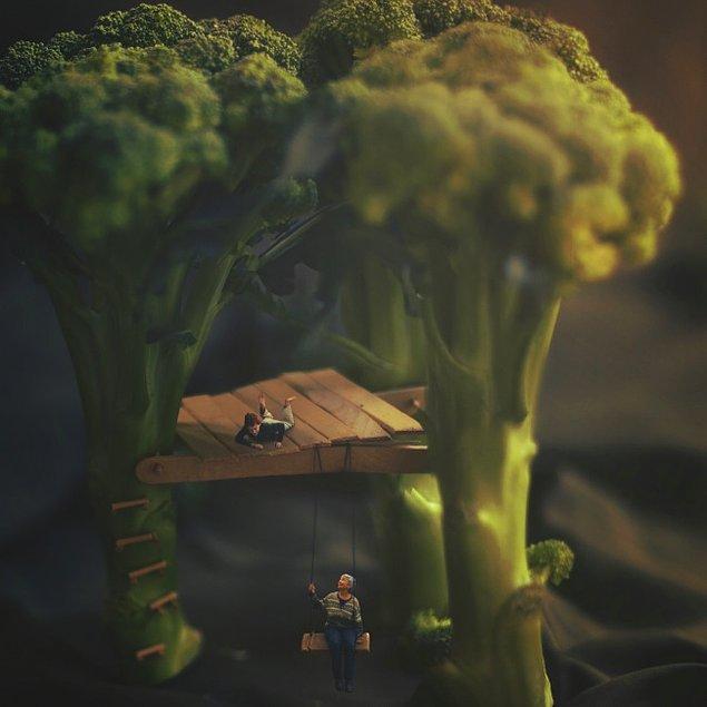 2. Brokoli salıncağı