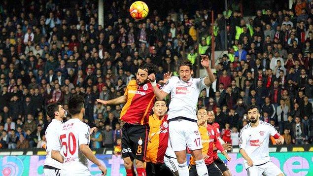 Gaziantepspor 2-0 Galatasaray
