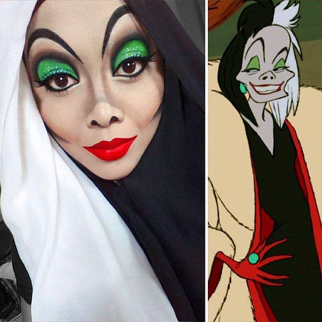 7. Cruella De Vil