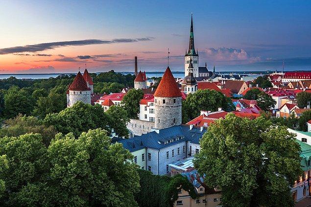 1. Estonya Cumhuriyeti, Kuzey Avrupa'da bulunan bir Baltık devletidir, başkenti Tallin'dir.