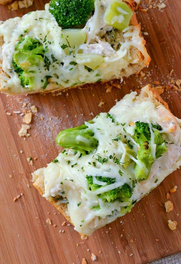 10. Brokoliyi sevmeyenlere hapur hupur yedirecek tek ekmek!