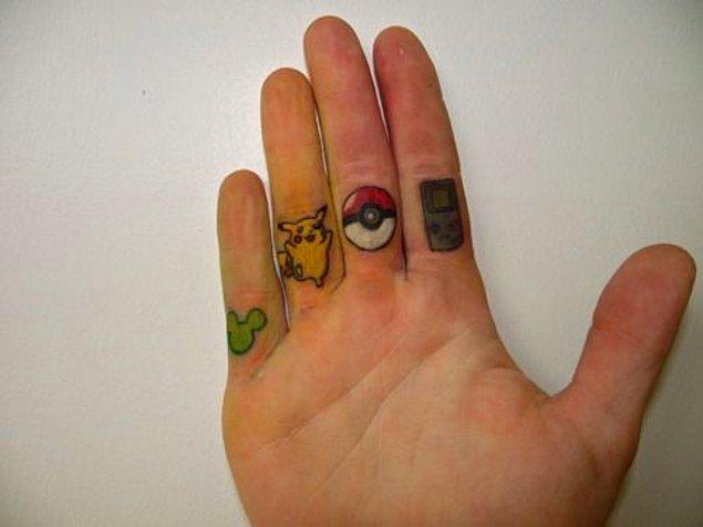 20. Minimalist dövmeleri sevenlere.