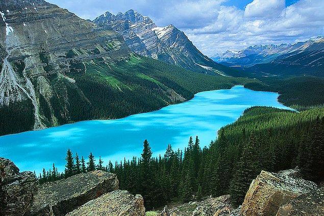 Kanada, dünyanın geri kalanının toplamından daha fazla göle sahiptir.