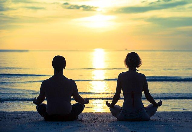 10. Meditasyon yapmayı öğrenmemek.