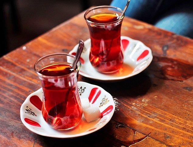 1. Çay