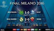 Şampiyonlar Ligi'nde Real Madrid ve Wolfsburg Çeyrek Finale Yükseldi