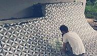 Yıkılan Binaları Yaptığı Zemin Desenleriyle Tekrardan Canlandıran Sokak Sanatçısı