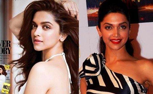 Deepika Padukone ise beyazlama işini biraz abartmış Bollywood yıldızlarından biri.