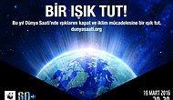 Dünya Saati 2016'ya Türkiye'den Katılacak 25 Kent