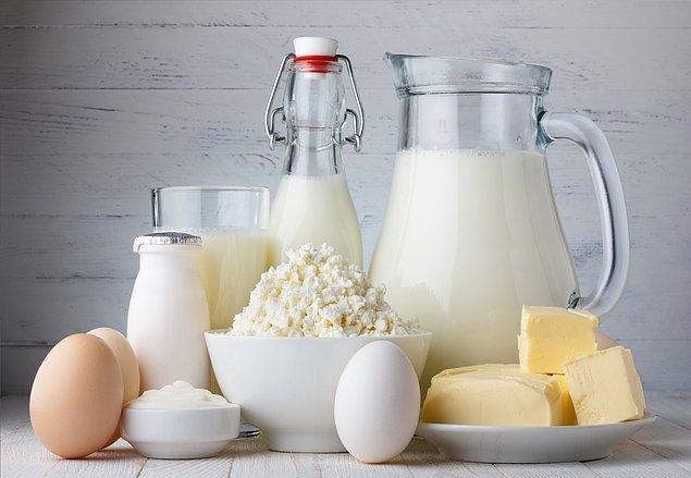 Кальций содержится только в молочных продуктах.