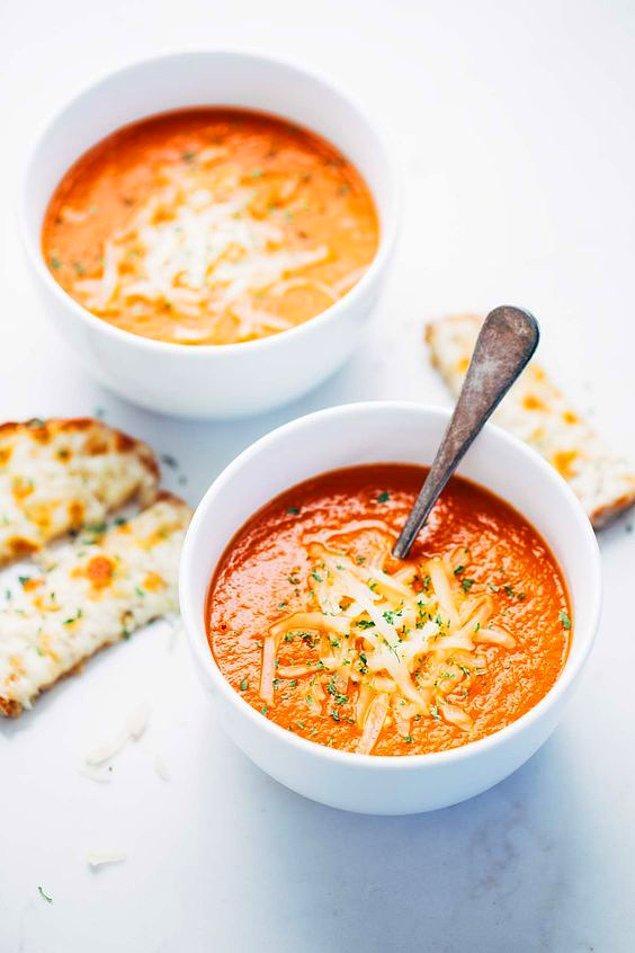 12. Domates Çorbası