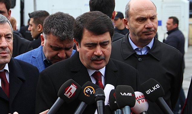 İstanbul Valisi Vasip Şahin: Biri canlı bomba 5 kişi öldü